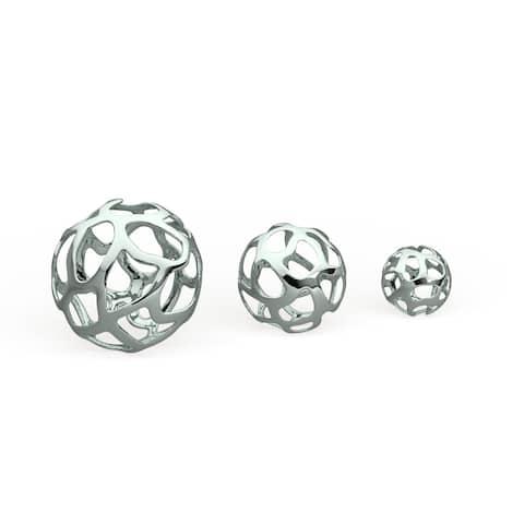 Strick & Bolton Tatum 3-piece Aluminum Decorative Ball Set