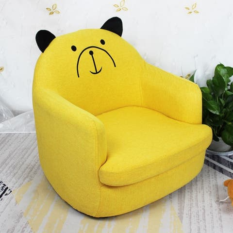 20Inch Upholstered Kids Sofa Armrest Chair Lounge Children Cartoon