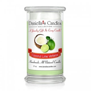 Coconut Lime Verbena Jewelry Candle - Surprise Me