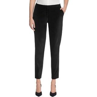 T Tahari Womens Tina Dress Pants Velvet Slim