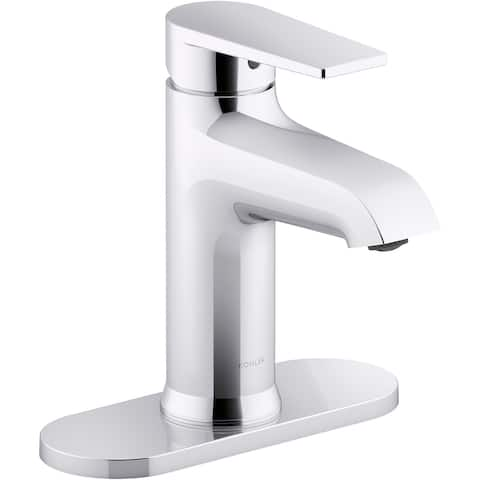 Kohler K-97061-4 Hint 1.2 GPM Single Hole Bathroom Faucet with Pop-Up