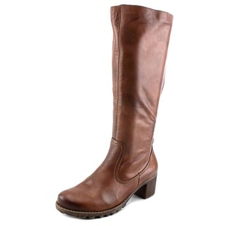 Remonte Aurica Round Toe Leather Knee High Boot