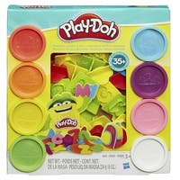 Hasbro Numbers, Letters and Fun Play-Doh Tool Kit, Set of 44