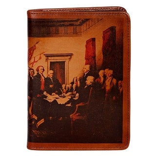 Scully Western Address Book Independence Print Leather Phone