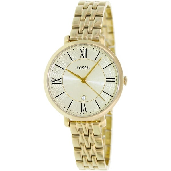 Fossil Women's Jacqueline Es3434 Gold Stainless by Fossil