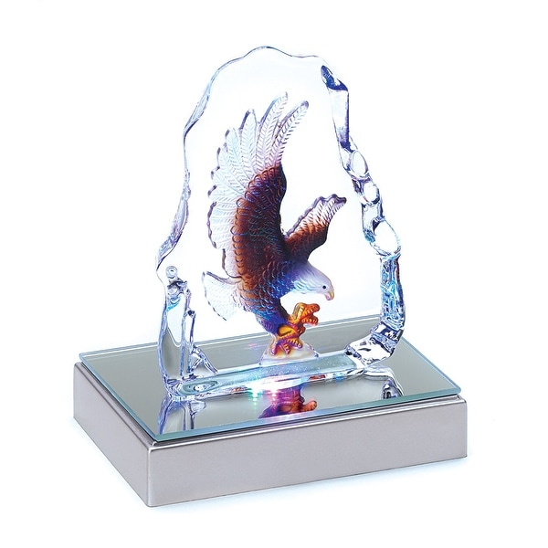 Eagle Crystal Sculpture