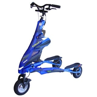 Trikke Pon-e Electric Scooter 48V T8H48V-BUCC with Battery Blue