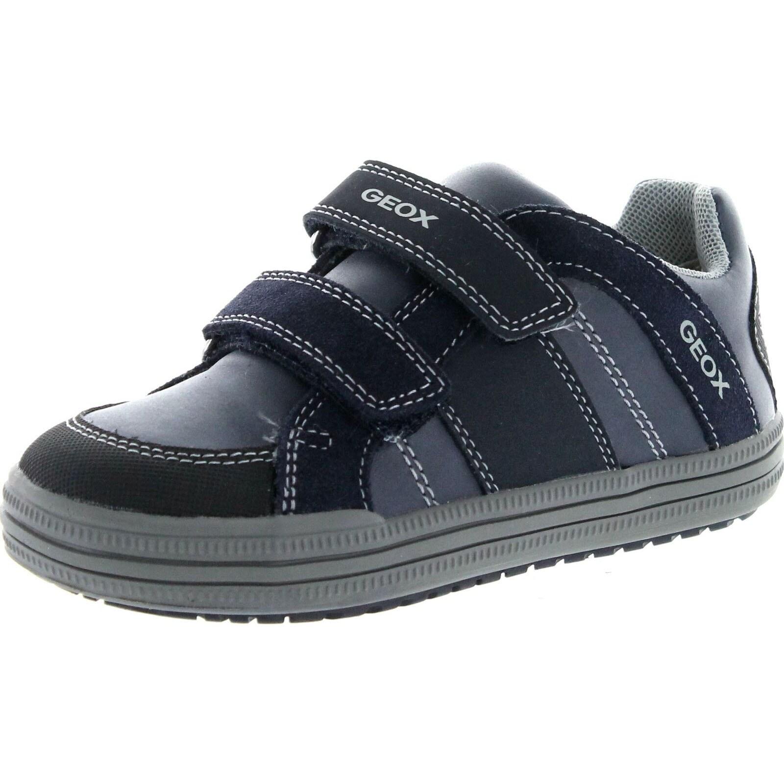 podar Paso papel  Shop Geox Boys Elvis J Fashion Casual Sneaker Shoes - Navy/Grey - 34 M EU /  3 M US LITTLE KID - Overstock - 21732948