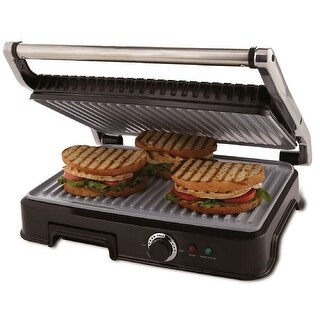 Oster Extra Large Duraceramic Panini Maker And Indoor Grill - CKSTPM6001-ECO