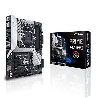 ASUS Prime X470-Pro Gaming X470 AMD AM4 Ryzen 2 DDR4 ATX Desktop Motherboard