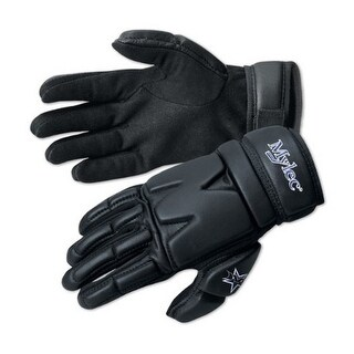 Mylec Unisex Elite Street/Dek Hockey Gloves (S), Black, Small