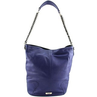 Dolce Vita Pebbled Hobo Women Leather Hobo - Blue