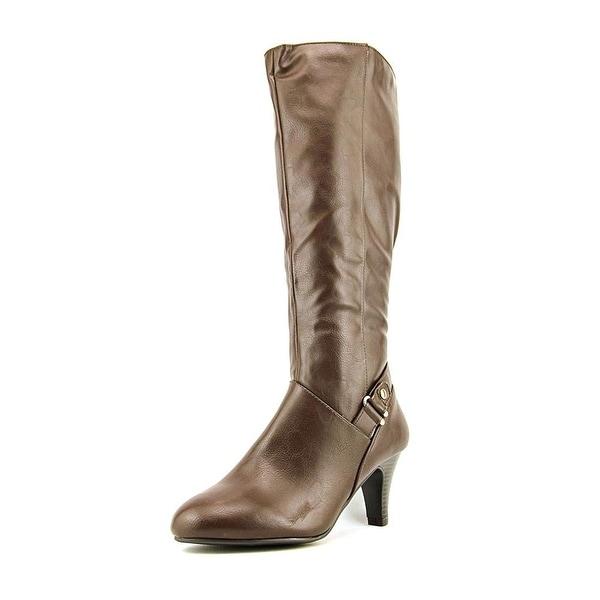 Karen Scott Womens Harloww Almond Toe Knee High Fashion Boots