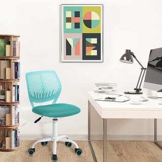 Porch & Den Nazaneen Cut-out Armrest Office Task Chair