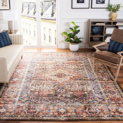 Safavieh Bijar Caddie Traditional Oriental Medallion Rug