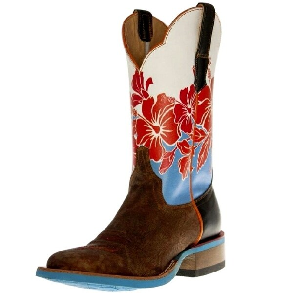 Cinch Western Boots Womens Cowboy Edge Aloha Square Brown