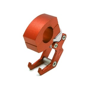 Orange Eagle Claw Design 22mm Handlebar Mounting Hook For Scooter Motorcycle