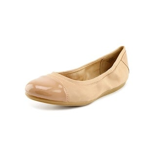 Easy Spirit e360 Gessica Women Cap Toe Canvas Nude Flats