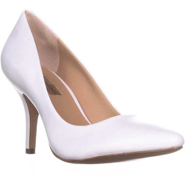 I35 Zitah2 Dress Pump Heels, Bright White