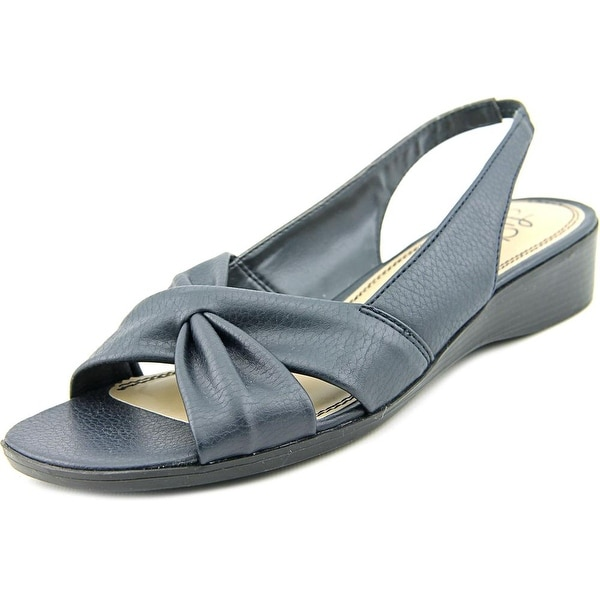 Life Stride Mimosa 2 Women N/S Open-Toe Synthetic Blue Slingback Sandal