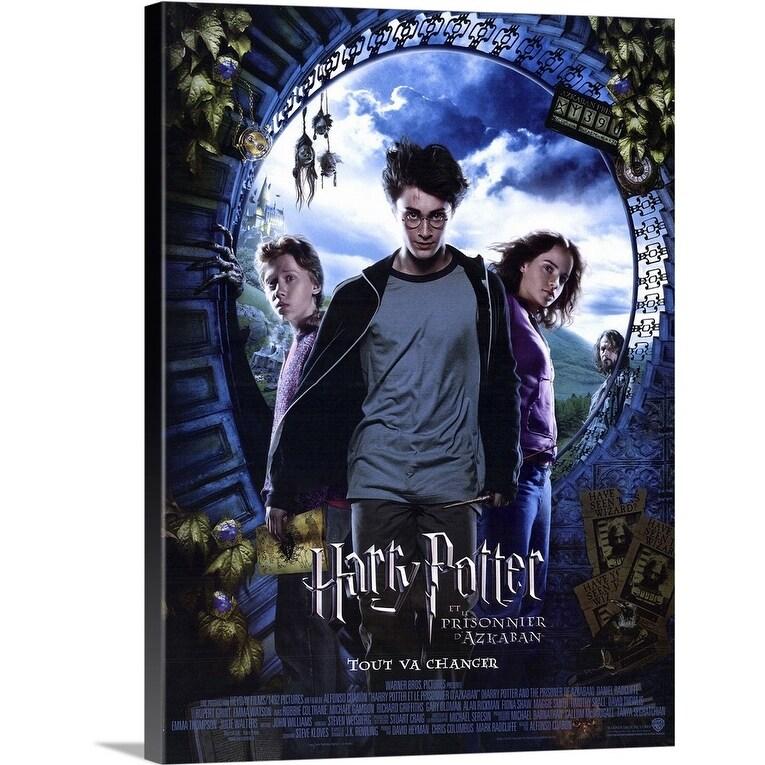 Shop Harry Potter And The Prisoner Of Azkaban 2004 Canvas Wall Art Overstock 24129622
