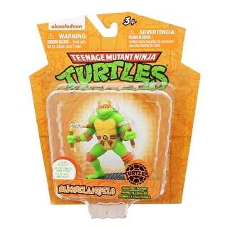 """Teenage Mutant Ninja Turtles 3"""" Figurine w/ Clip: Michelangelo - multi"""