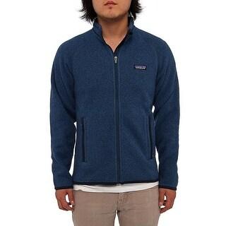 Patagonia Men Men's Better Sweater Jacket Fleece Glass Blue