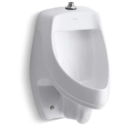 Kohler K-5016-ETSS Dexter Top Spud Urinal - White