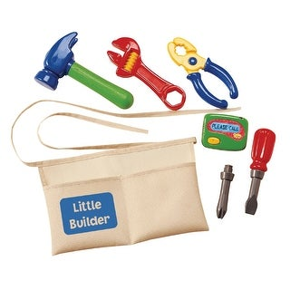 International Playthings Little Builder Tool Belt Set