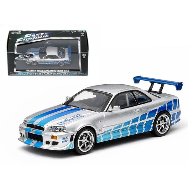 1999 Nissan Skyline GT R 2 Fast 2 Furious Movie (2003) 1/43 Diecast Car  Model By Greenlight   Free Shipping On Orders Over $45   Overstock    22057878