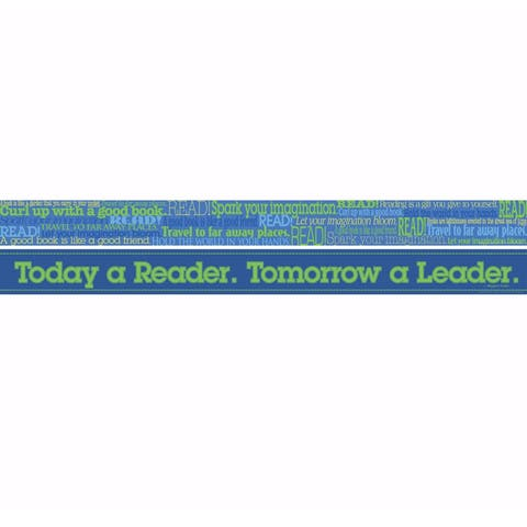 Word Wall Read Double Sided Border