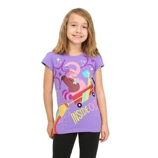 Girls Inside Out Joy and Bing Bong T-Shirt - 10/12