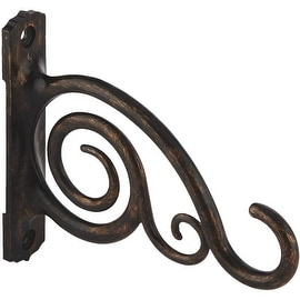"Panacea 6""Scroll Bronze Bracket"