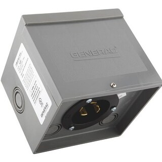 Generac Power Systems 30A Nm Power Inlet Box 6337 Unit: EACH