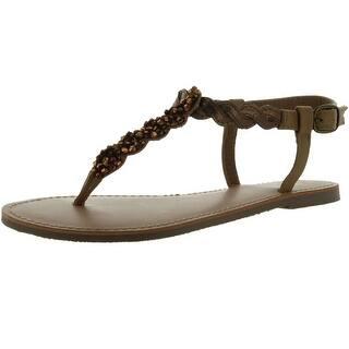 61b18955e06d Buy Beige Yellow Box Women s Sandals Online at Overstock.com