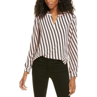 Link to Jones New York Split Neck High-Low Blouse Similar Items in Suits & Suit Separates