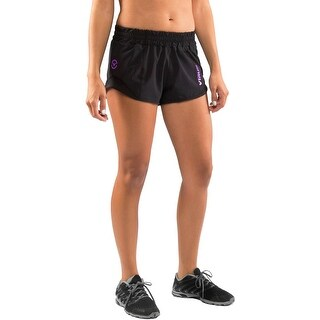 Virus Women's Jade Series Loose Fit Trace Training Shorts - Black