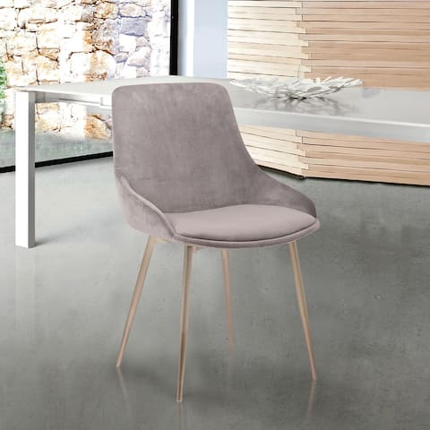 Silver Orchid Bejo Velvet Dining Accent Chair