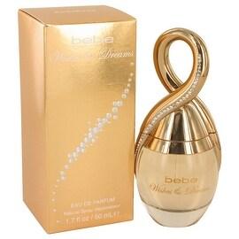 Eau De Parfum Spray 1.7 oz Bebe Wishes & Dreams by Bebe - Women