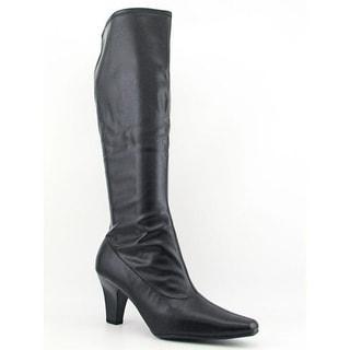 Aerosoles Risky Pizness Women  Square Toe Synthetic Black Knee High Boot