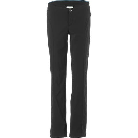 New Columbia Women's Just Right Straight Leg Pant, Black, 10R