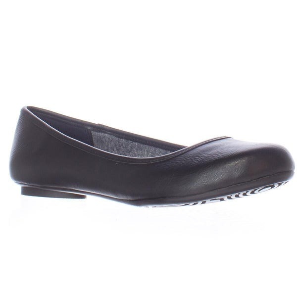 Dr. Scholl's Friendly Memory Foam Cool Fit Flats, Black