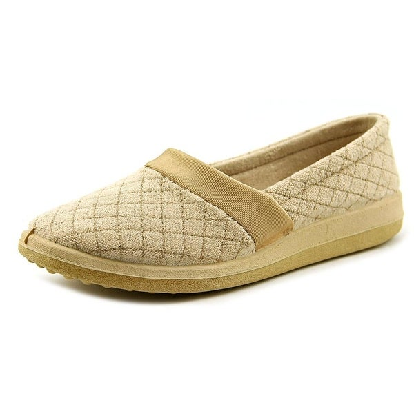 Soft-Fit Sue Women Round Toe Synthetic Nude Slipper