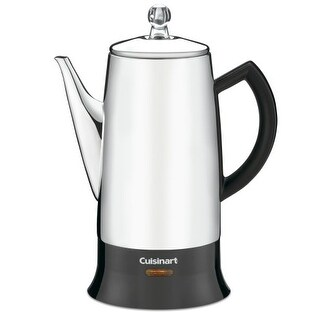 Refurbished Cuisinart Stainless Percolator 12-Cup Stainless Steel Percolator