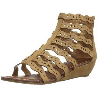 Carlos by Carlos Santana Womens Kitt Fabric Open Toe Casual Strappy Sandals