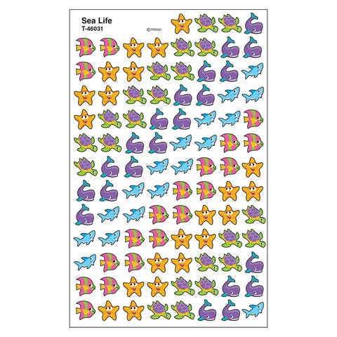 Supershapes Sea Life Stickers