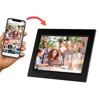 """Link to Sylvania SDPF1095 10"""" Smart Digital Picture Frame 8GB / WiFi / IPS Touchscreen Manufacturer Refurbished Similar Items in Camcorders"""