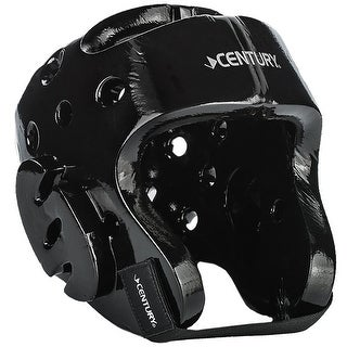 Century Kid's Martial Arts Student Sparring Headgear - Black - karate taekwondo