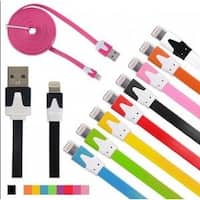 Micro USB 10 Foot Noodle Charger Cables
