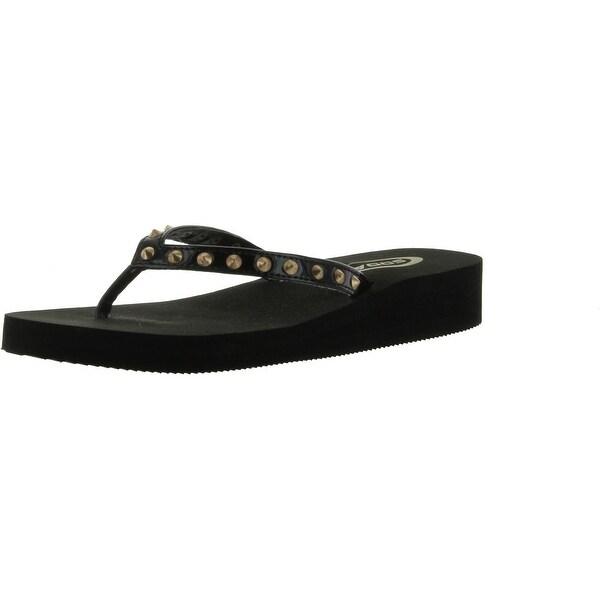 Soda Womens Pocket Fashion Flip Flop Sandals